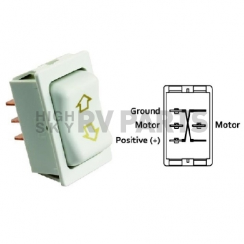 What is the difference in momentary switch and continuous switch?