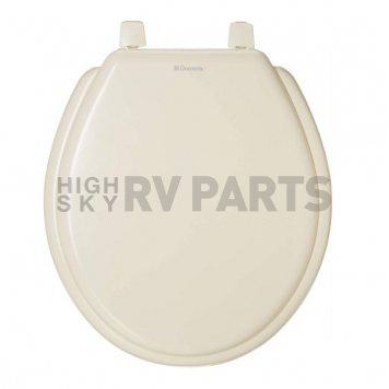 Dometic Toilet Seat Elongated Bone for 210 Model with Cover - 385344089 Questions & Answers