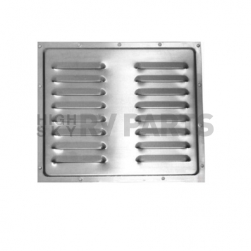 Louvered Refrigerator Exterior Vent Cover Aluminum without Lever 108131-02 Questions & Answers